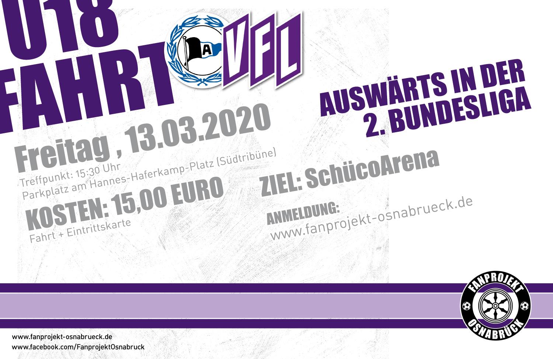 U18-Bus nach Bielefeld