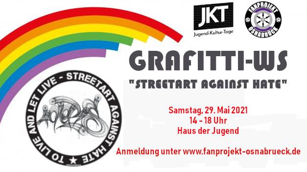 Jugendkulturtage 2021: Grafitti-WS